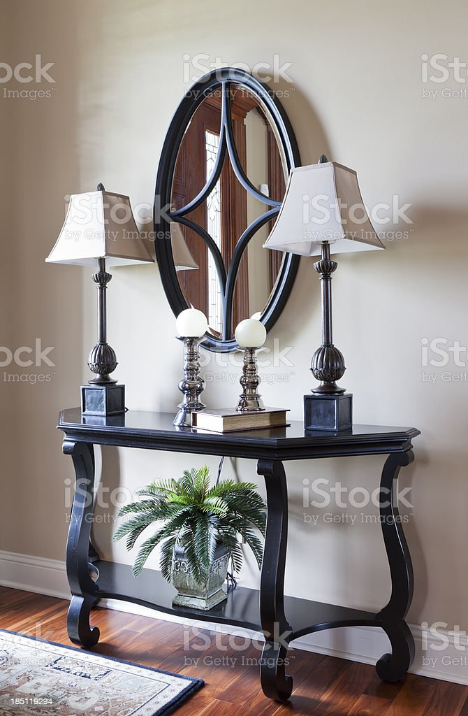 Entryway Table royalty-free stock photo