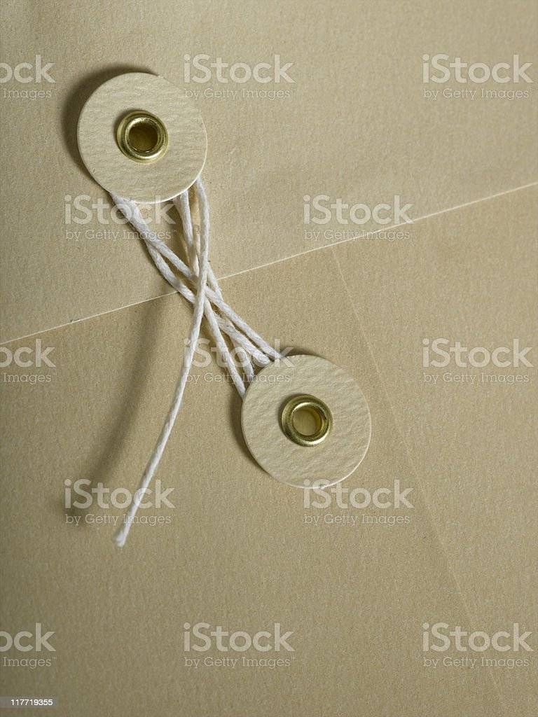 Envelope Clasp royalty-free stock photo