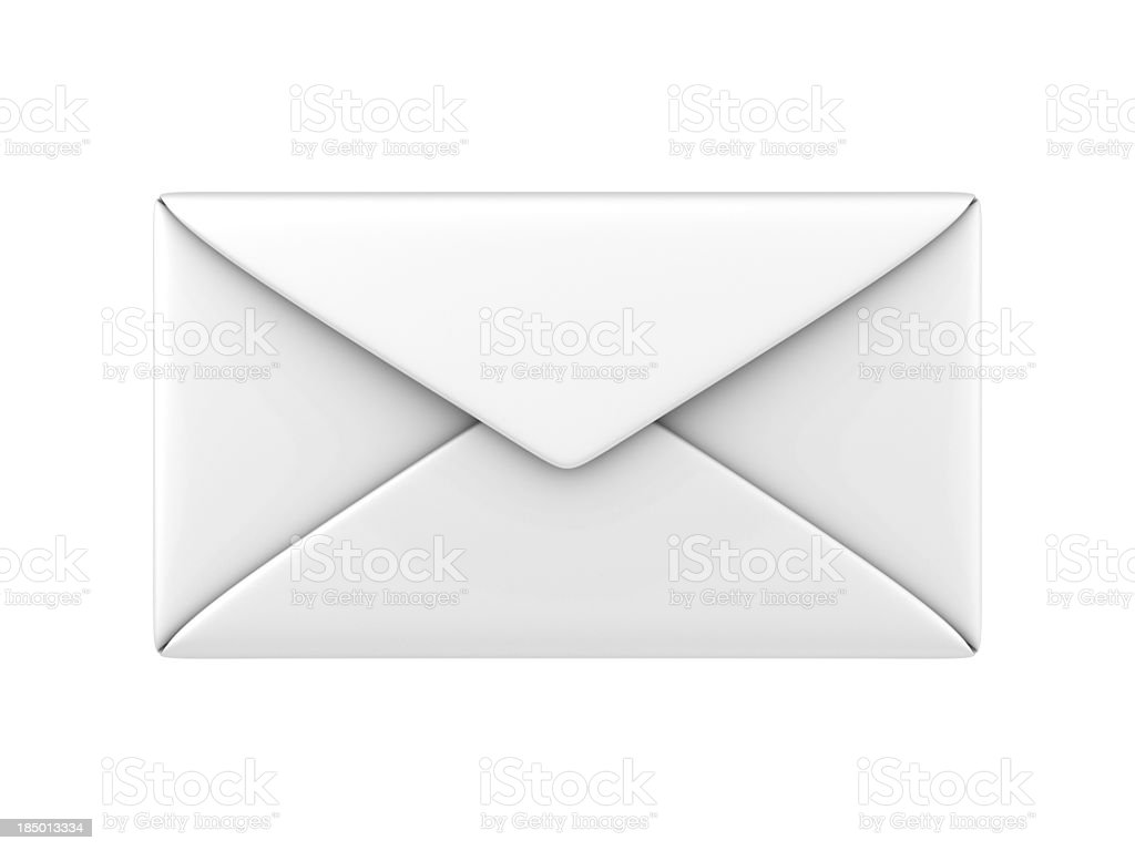 3D Envelope stock photo