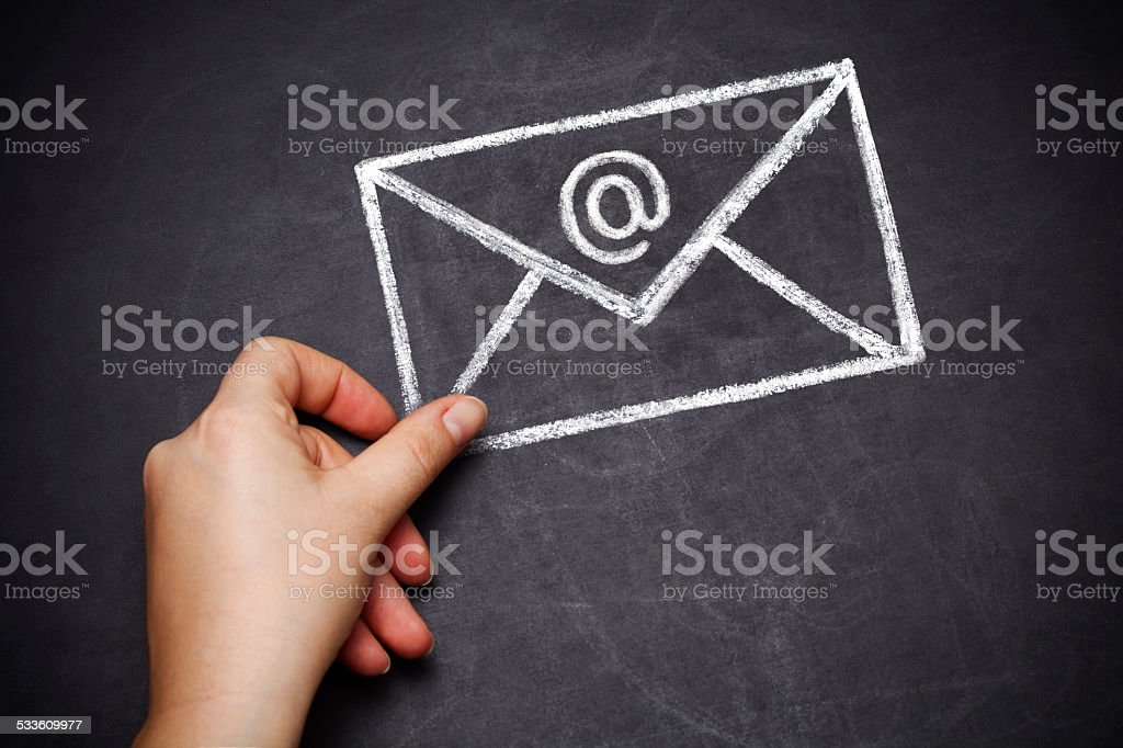 envelope stock photo