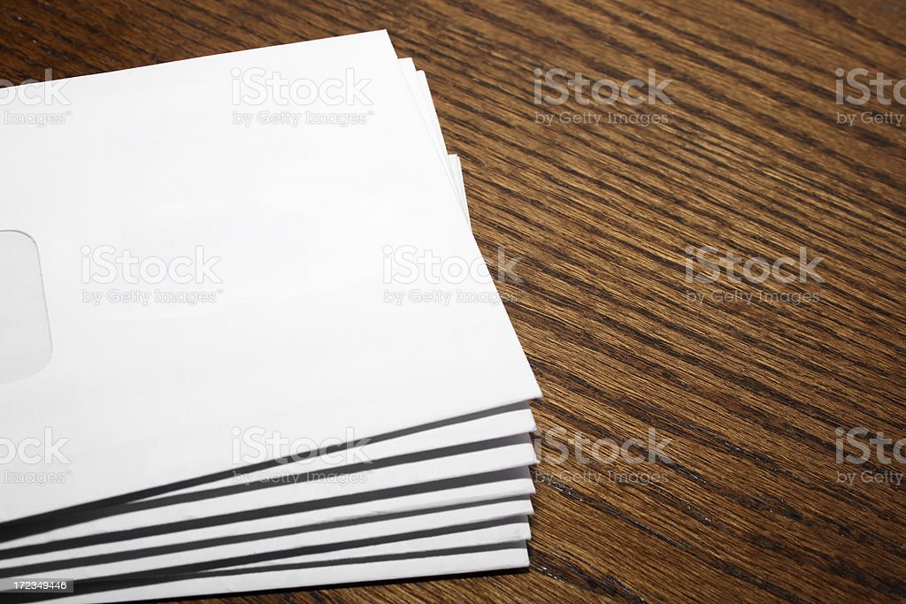 Envelopes royalty-free stock photo