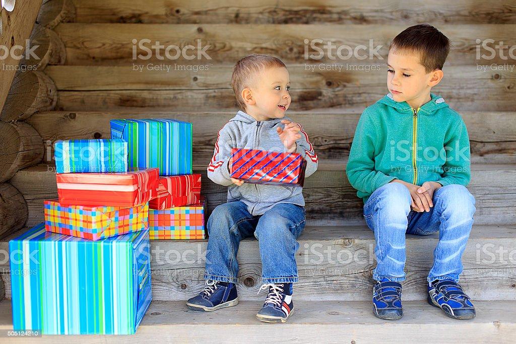 envious child stock photo