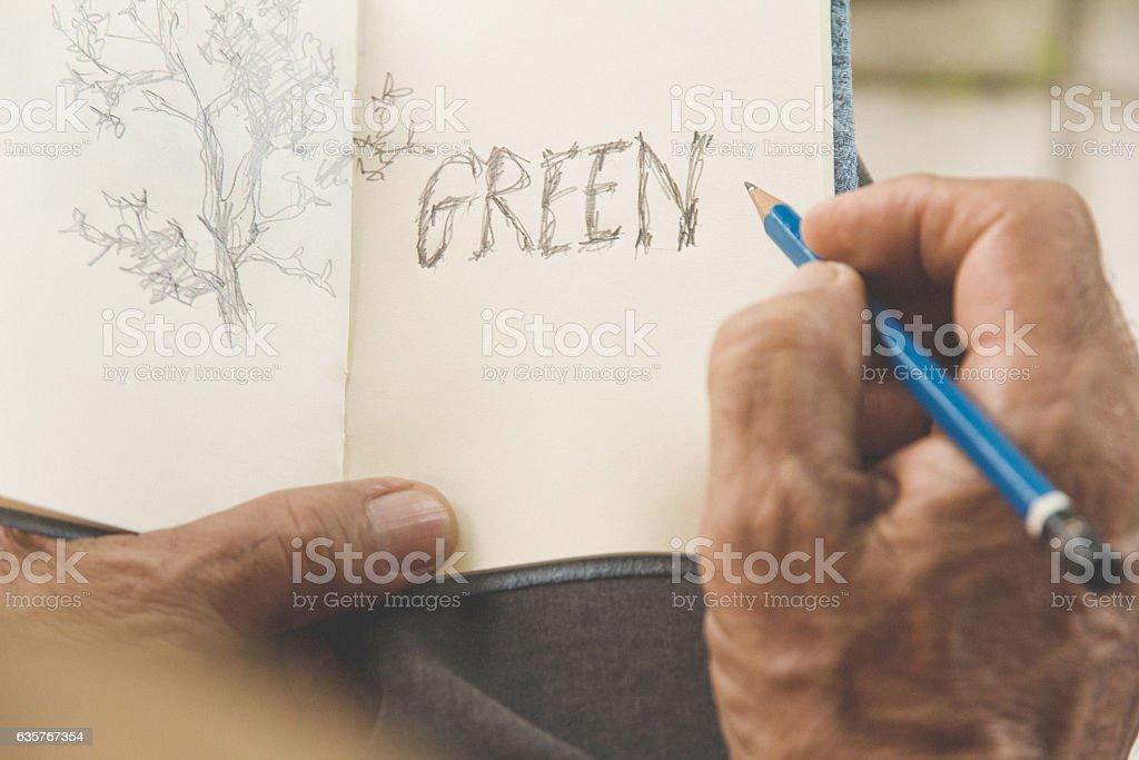 Environment Conservative concept stock photo