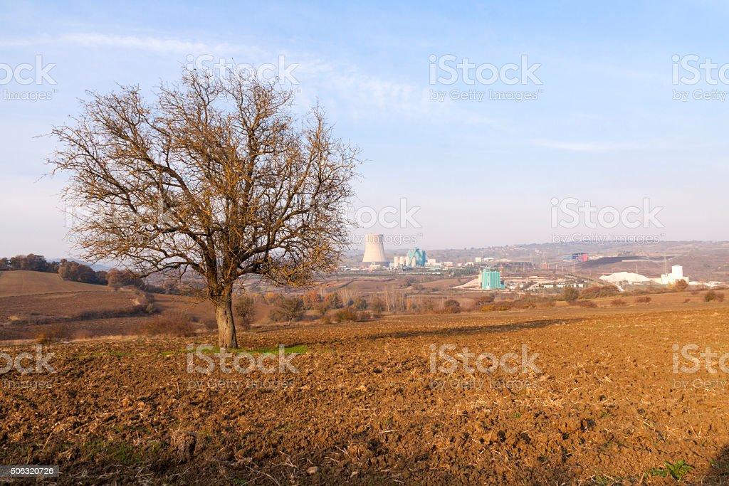 Environment & Industry stock photo