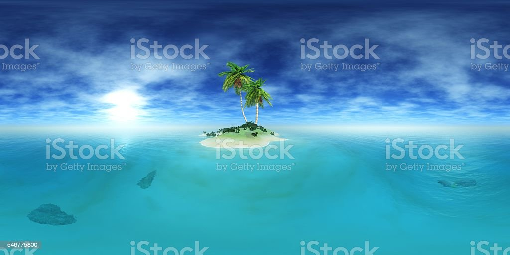 Environment map. HDRI map. stock photo