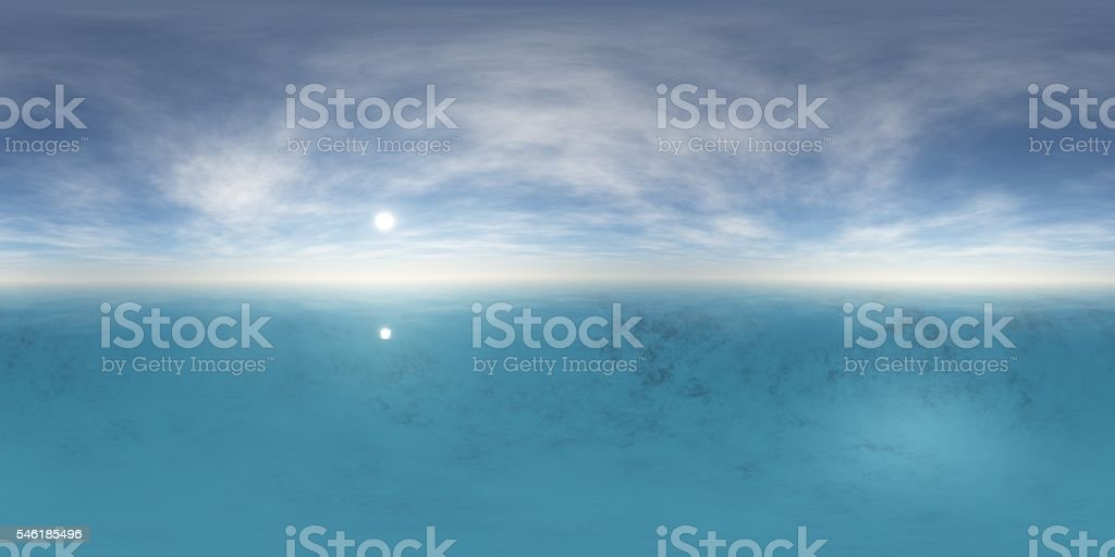 Environment map, stock photo