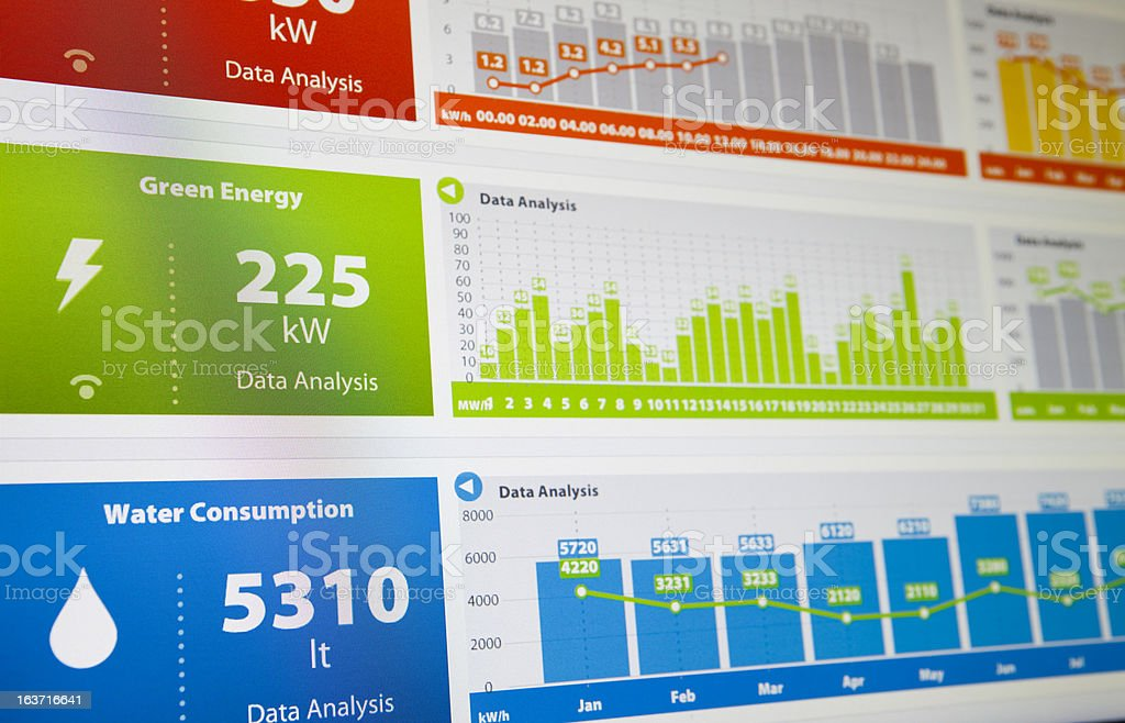 Environmental and Ambient Data stock photo