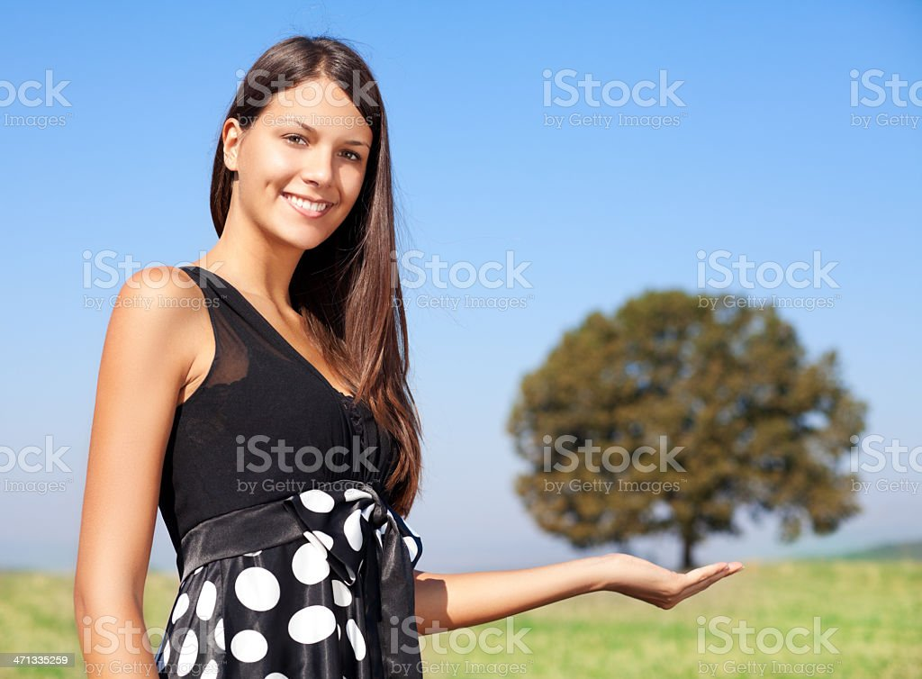 Environmental conservation concept royalty-free stock photo