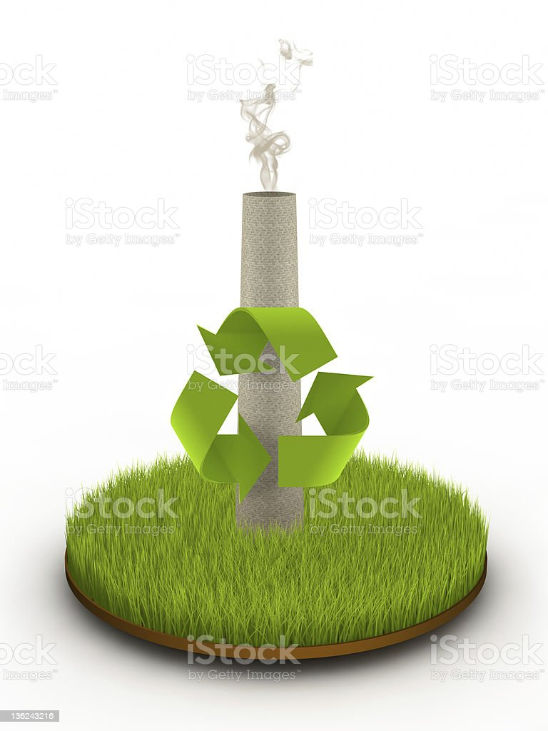 Environmental Conservation royalty-free stock photo