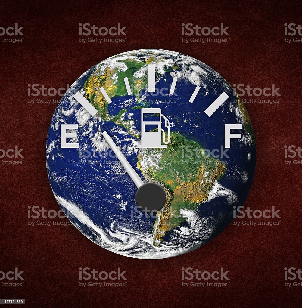 Environmental Damage Concept royalty-free stock photo