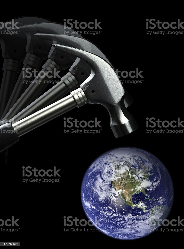 Environmental Damage royalty-free stock photo