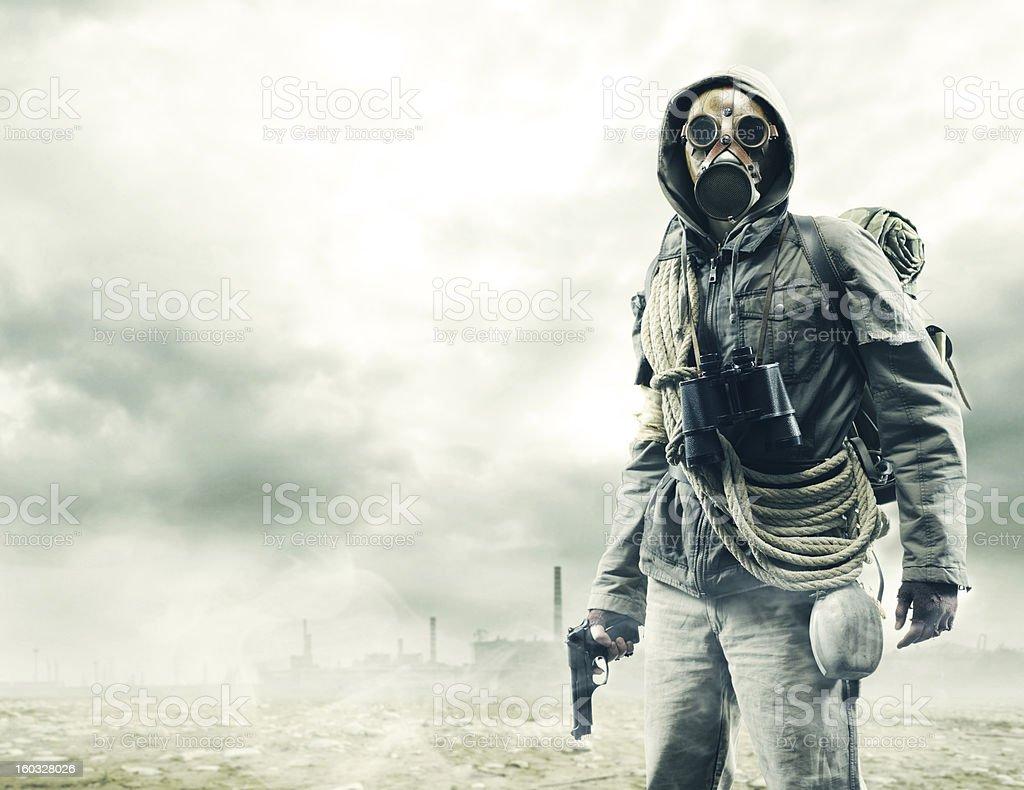 Environmental disaster royalty-free stock photo
