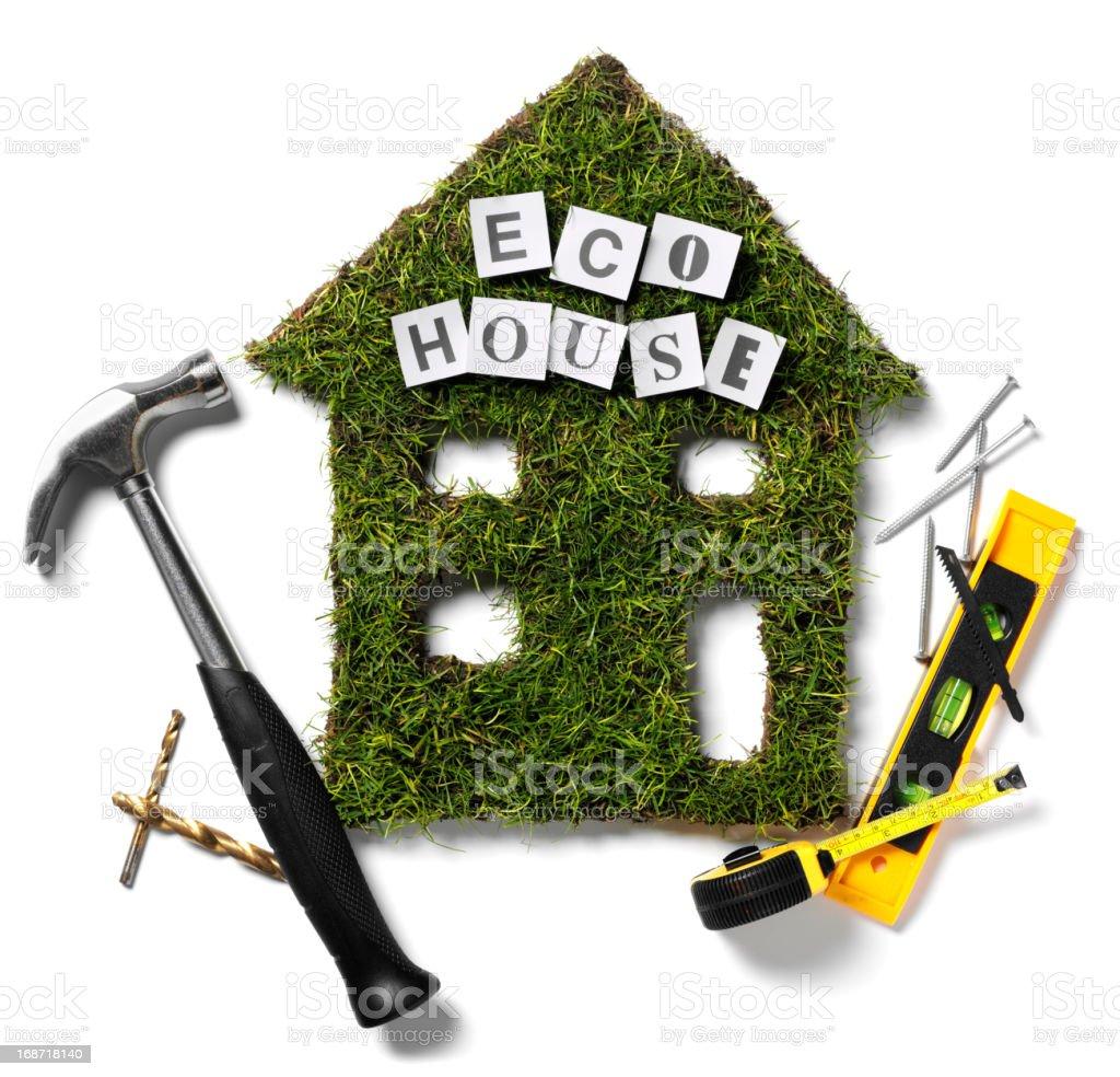 Environmental Friendly House royalty-free stock photo