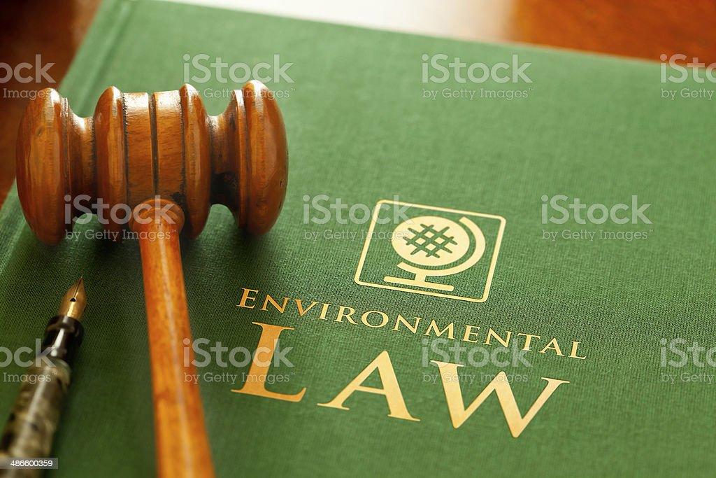 Environmental Law stock photo