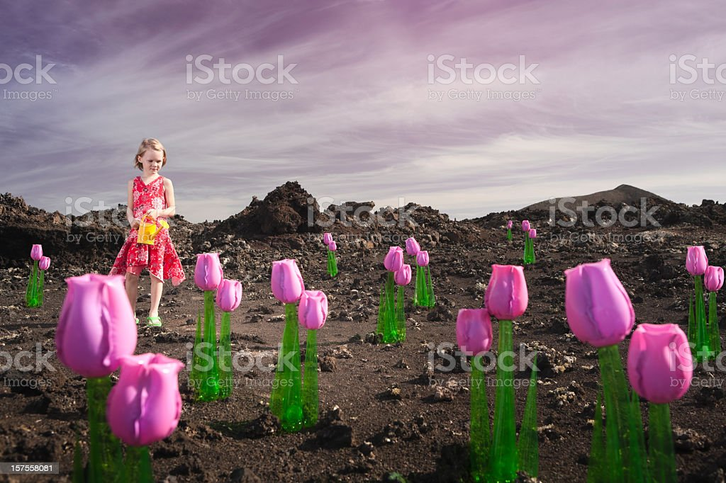 Environmental message royalty-free stock photo