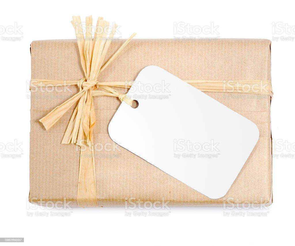Environmental packaging stock photo