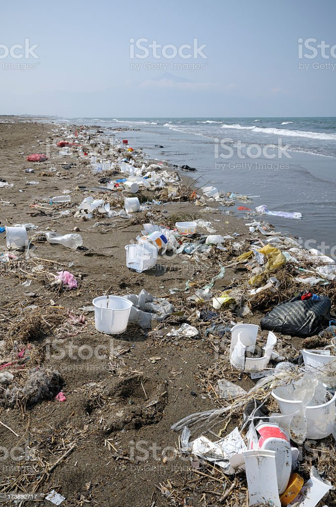 Environmental Pollution royalty-free stock photo