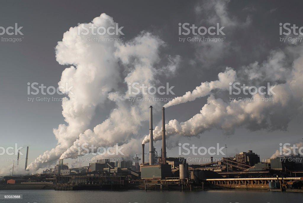 Environmental Problem stock photo