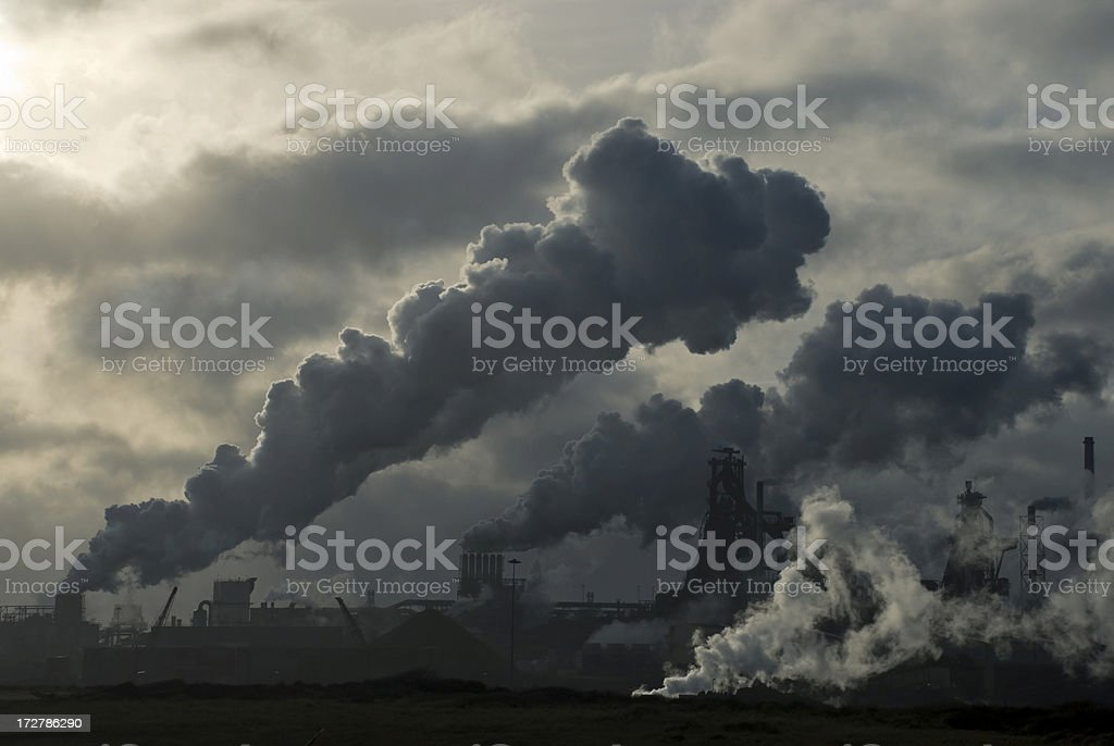 Environmental Problems royalty-free stock photo