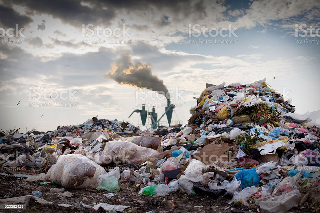 Environmental problems stock photo