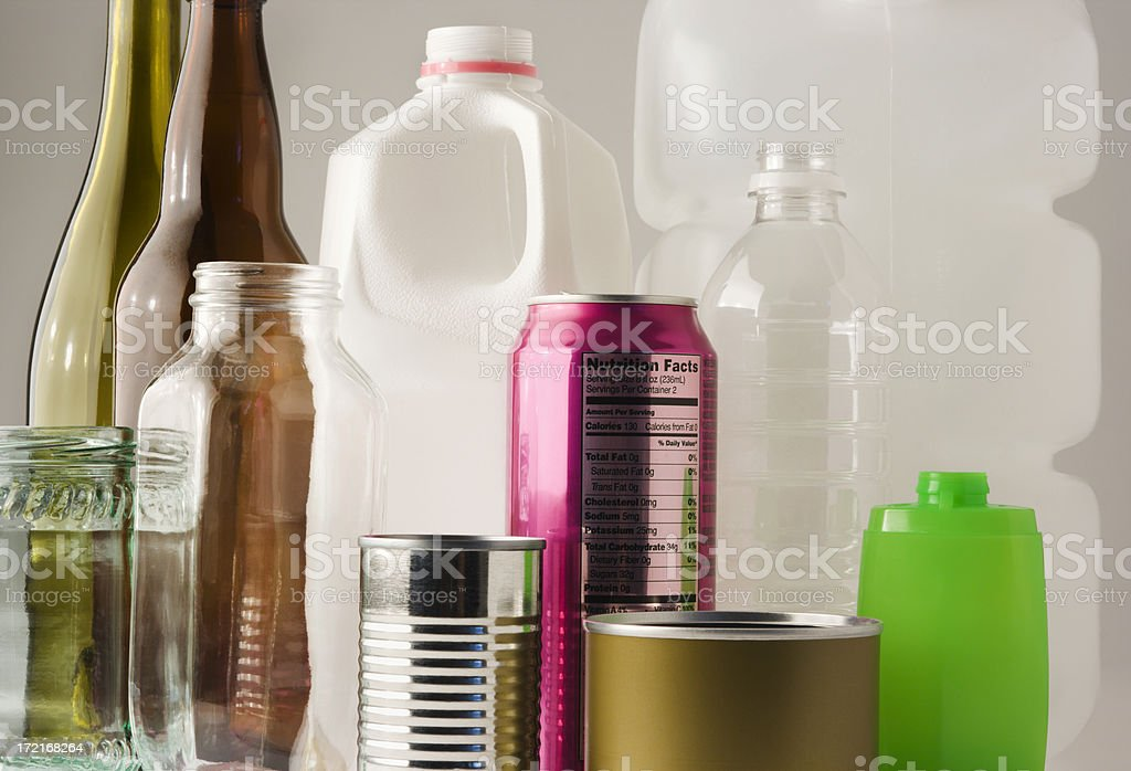 Environmental Recycling Hz royalty-free stock photo