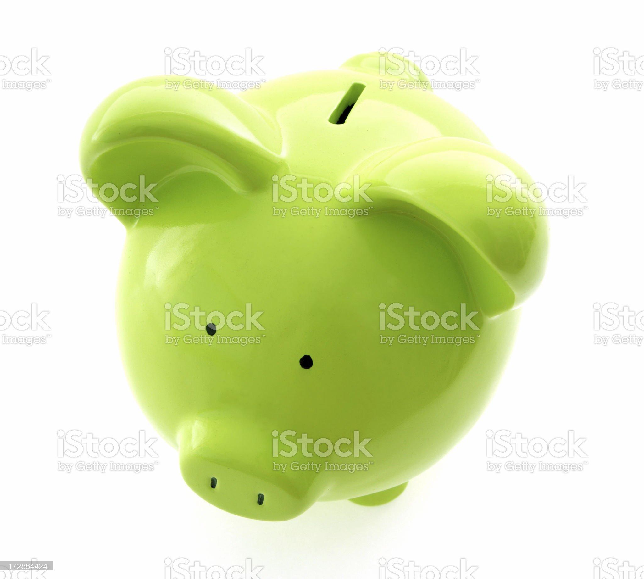 Environmental Savings royalty-free stock photo