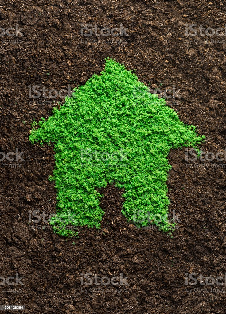Environmentally friendly living stock photo