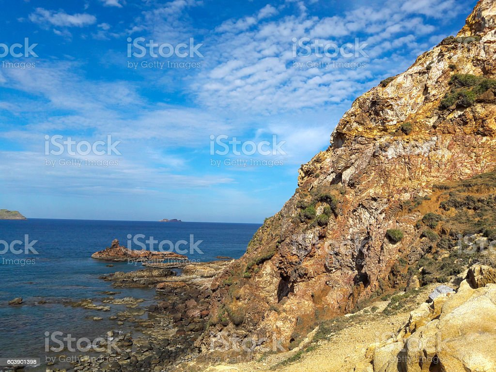 Eo Gio beach is the tourist attractions stock photo
