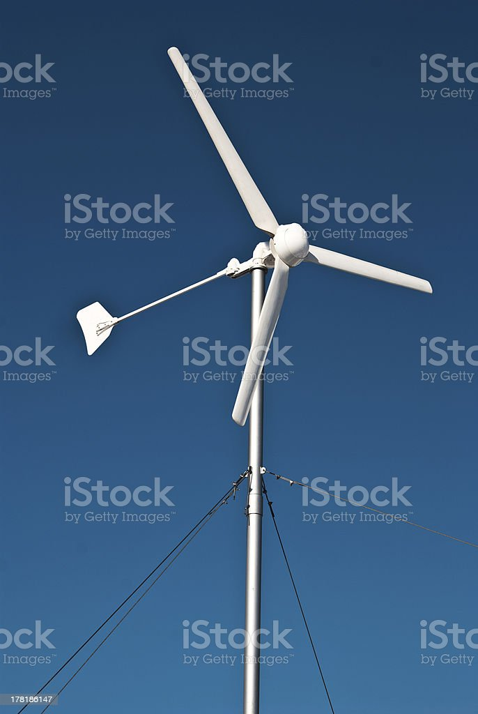 Eolian generator royalty-free stock photo