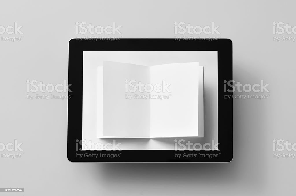 e-paper royalty-free stock photo