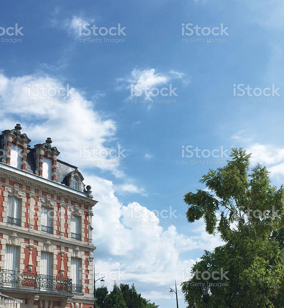 Epernay, Place de la Republique stock photo