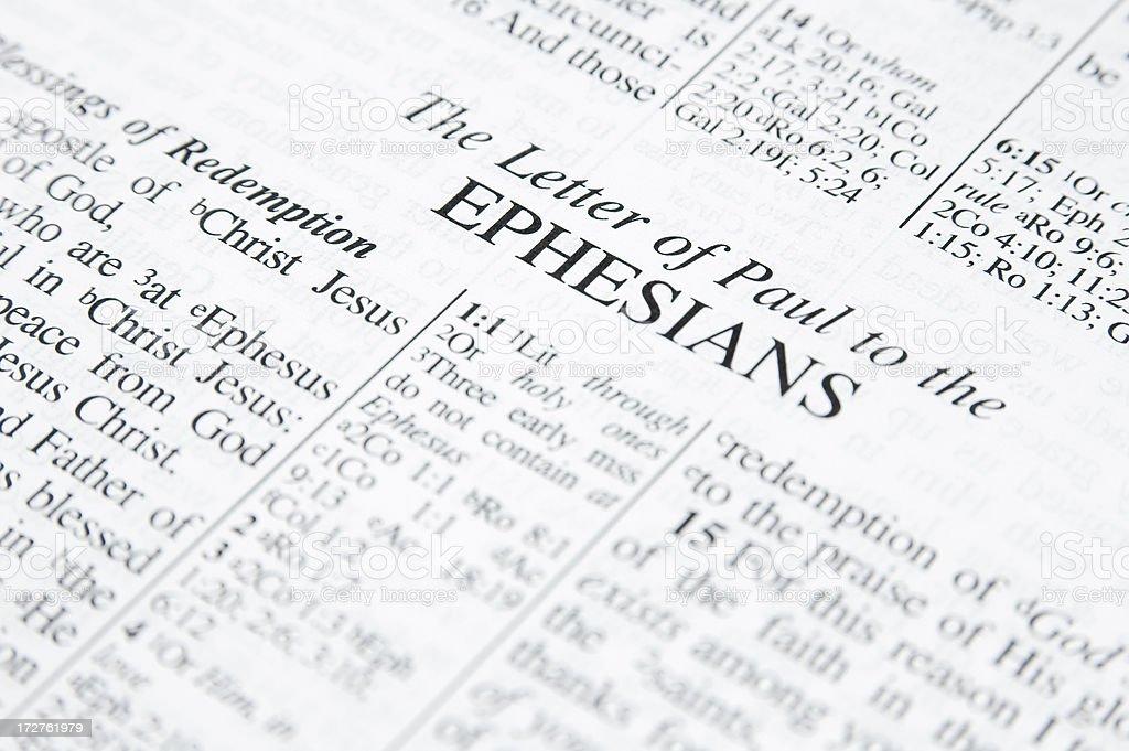 Ephesians royalty-free stock photo