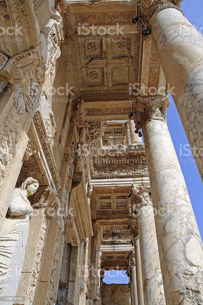 Ephesos stock photo