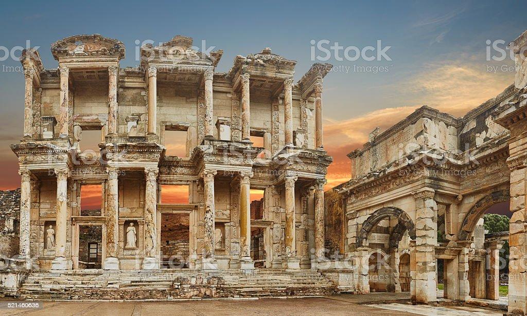 Ephesus - 38 Mpx- XXXL stock photo
