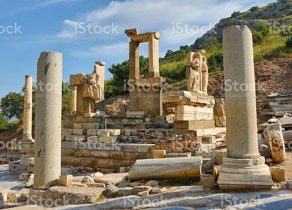 Ephesus Ruins stock photo