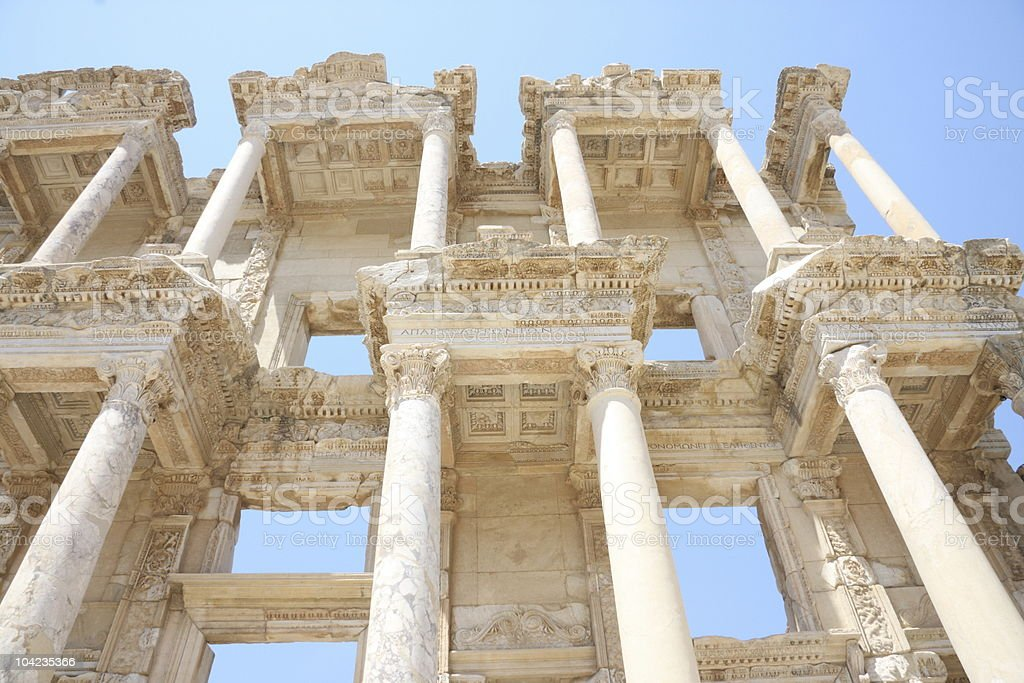 Ephesus Turkey royalty-free stock photo
