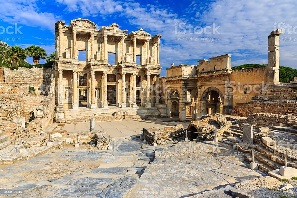 Ephesus, Turkey stock photo
