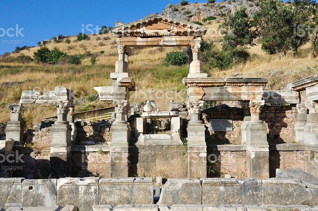 Ephesus, Turkey stock photo