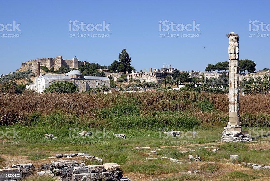 Ephesus,Turkey stock photo