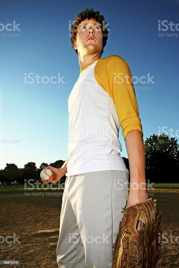 epic pitcher royalty-free stock photo