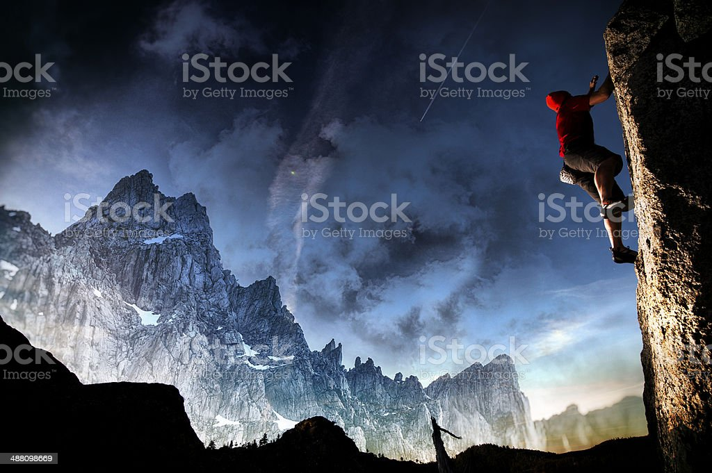 epic scene stock photo