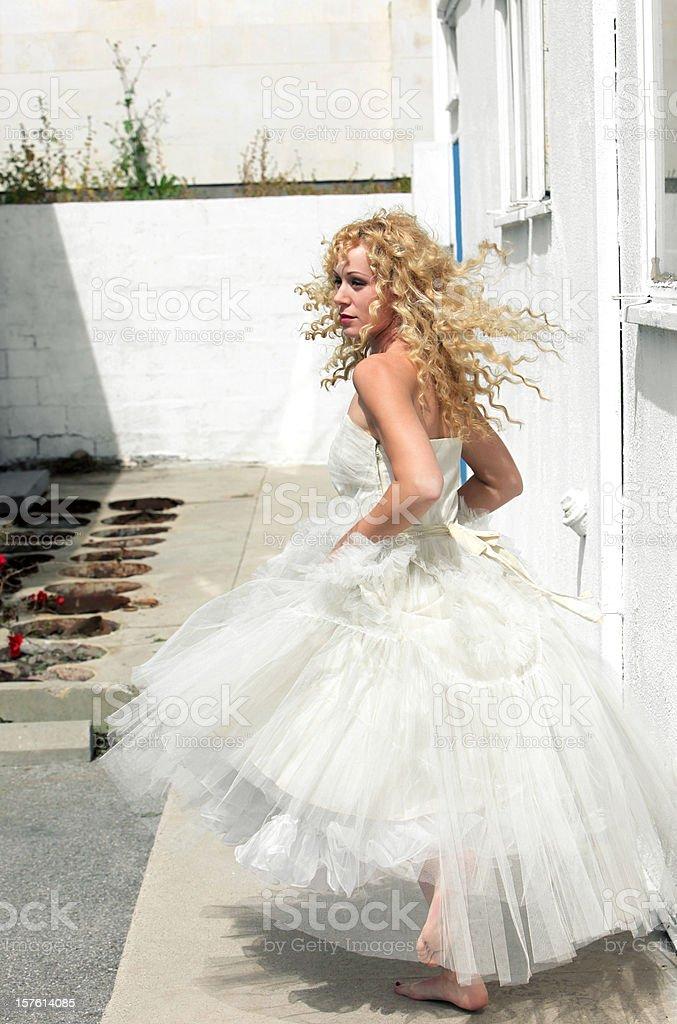 Epic Wedding Portraits stock photo