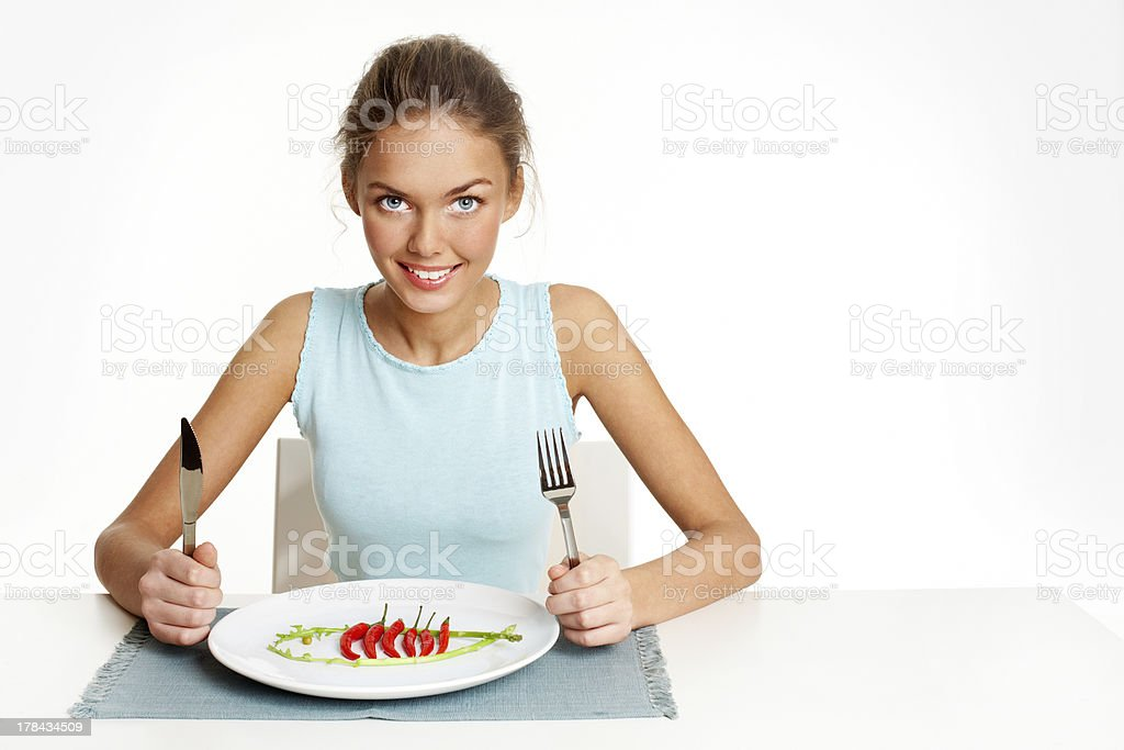 Epicure stock photo