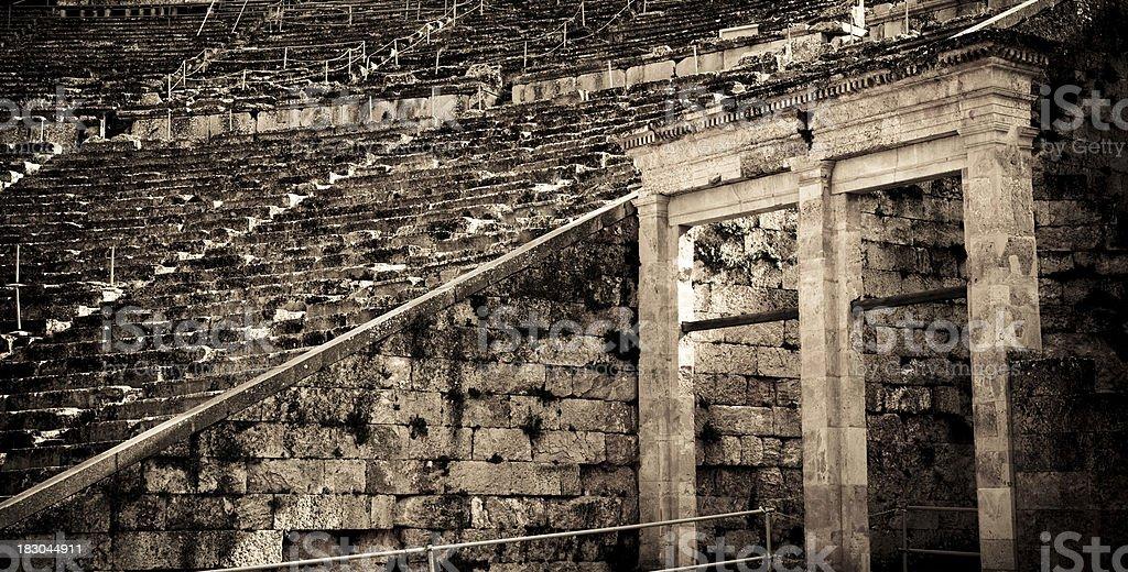 Epidaurus Ancient Amphitheater royalty-free stock photo