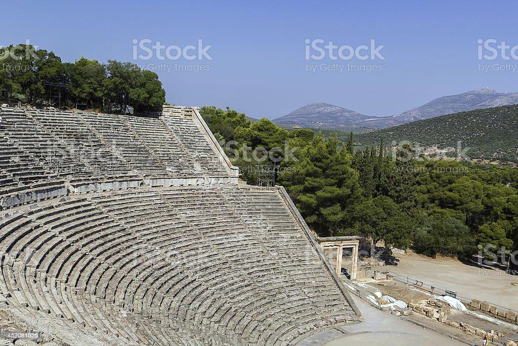 Epidaurus, Greece royalty-free stock photo