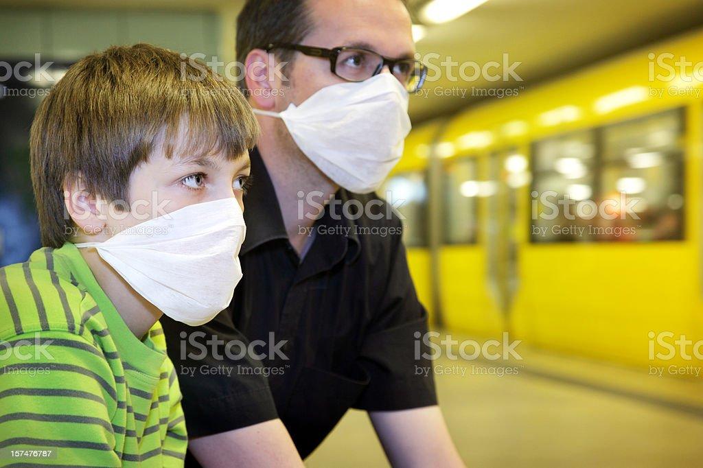 Epidemic Protection or Panic royalty-free stock photo