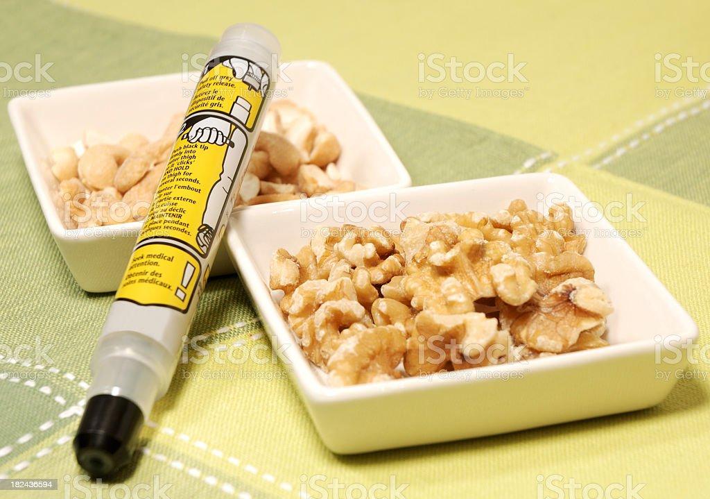 Epipen for allergy. stock photo