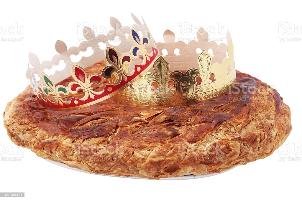 Epiphany Cake stock photo