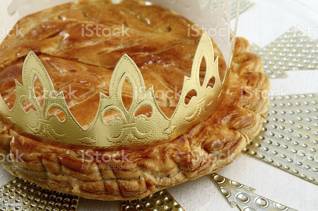 Epiphany cake royalty-free stock photo