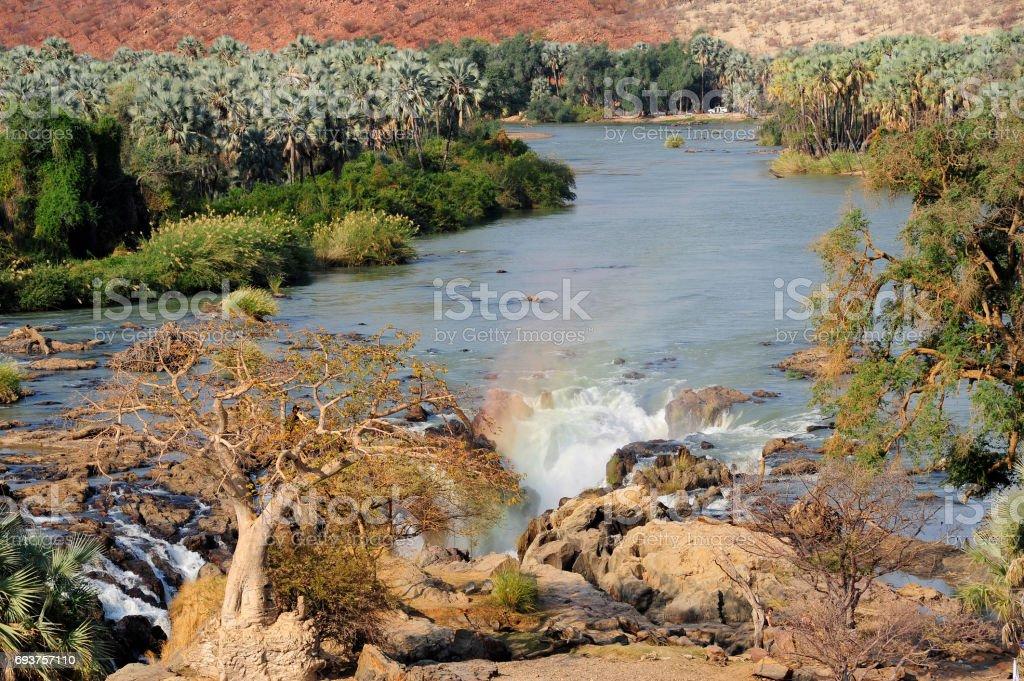 Epupa falls stock photo